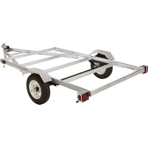 Small Aluminum Boat Trailer by Small Trailer Ultra Tow 5ft X 8ft Aluminum Utility