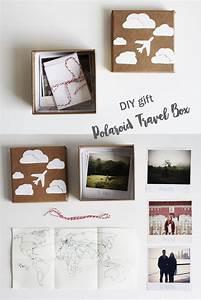 Geschenke Für Weltenbummler : diy geschenk f r weltenbummler die polaroid reise kiste gift craft and diy ideas ~ Sanjose-hotels-ca.com Haus und Dekorationen