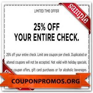 ruby tuesday printable coupon july 2015 2017 2018 best cars reviews