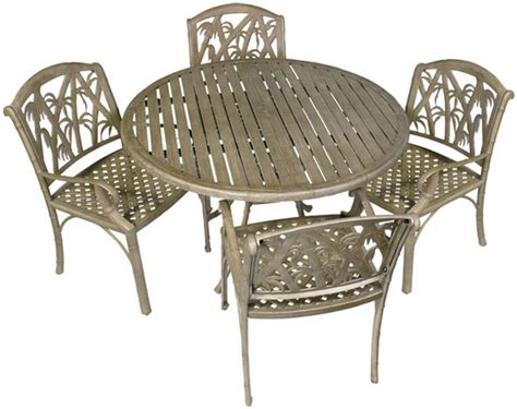 bali 5 outdoor dining table and chairs set patio table