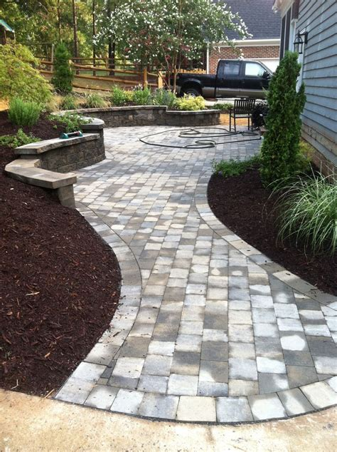 Paver Patio Designs by Walkway Designs And Patio Designs Paver Patio Walkway