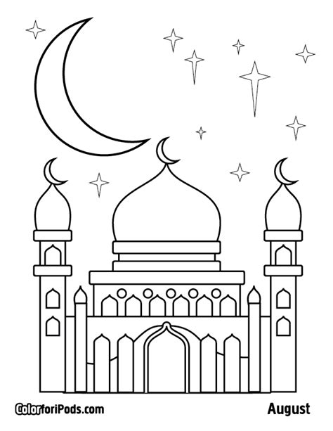Coloring Mosque by List Of Synonyms And Antonyms Of The Word Mosque Coloring