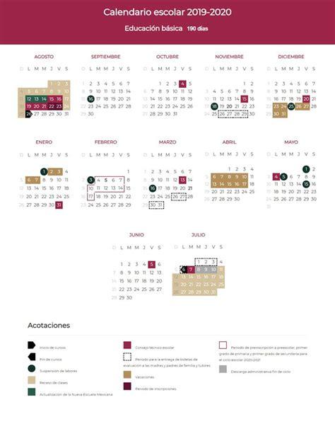 presenta sep el calendario escolar de dias el