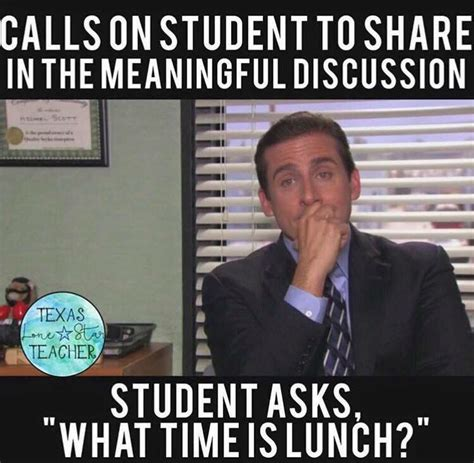 Online Class Meme - a teacher s face when he calls on a student to share in the meaningful discussion and the