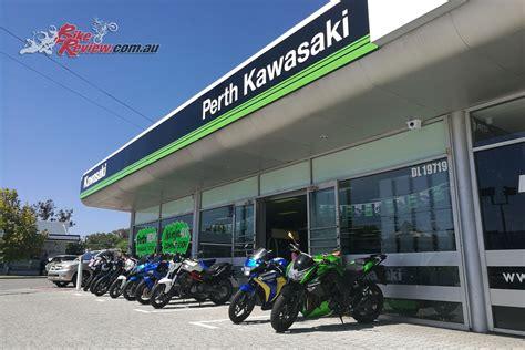 Kawasaki Motorcycle Dealership by Perth Kawasaki New Western Australian Dealership Bike