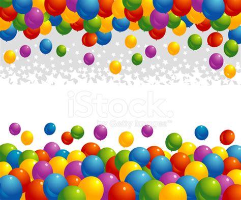 blue flower wall balloon banners stock vector freeimages com