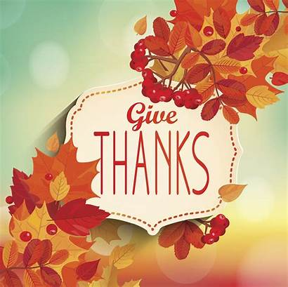 Thanks Give Thanksgiving Thankful Giving Grateful Vector