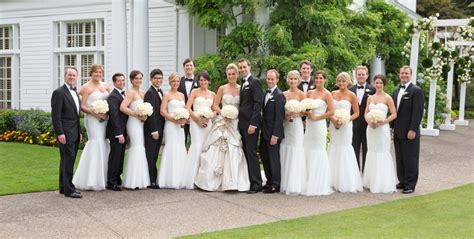 All-white Country Club Wedding In Portland Designed By