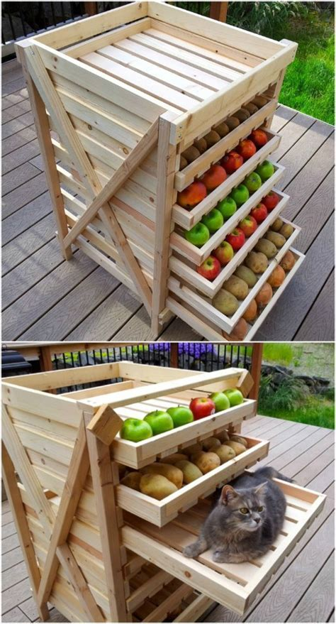 16 DIY Produce Storage Solutions for Fresh Fruit and