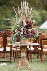 Wild, Fall, Flower, Arrangement, Aisle, Decoration