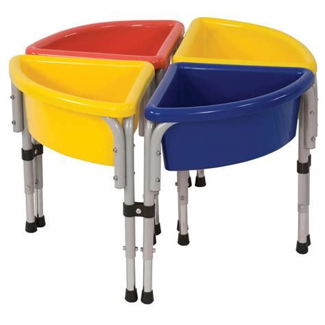 water table with lid 4 station round sand water table with lids