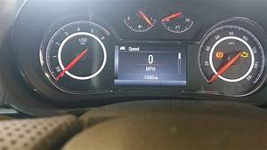 New Vauxhall Insignia Service Message Reset