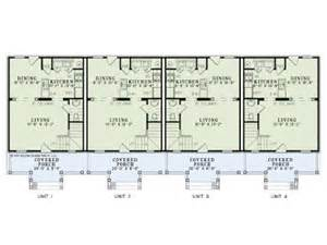 one story four bedroom house plans apartment house plans 4 living units two story design 025m 0077 at thehouseplanshop