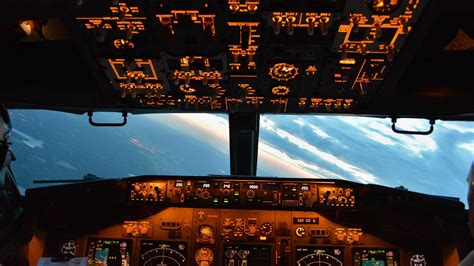 Cockpit Desktop Wallpaper