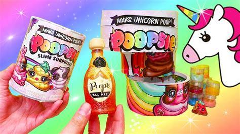 unicorn magical poopsie slime surprise   color