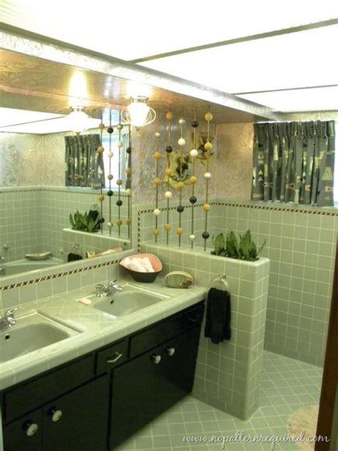 green  bathrooms images  pinterest