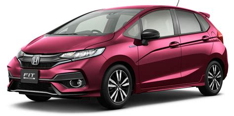 Honda Jazz Photo by 2018 Honda Jazz Facelift Unveiled In Japan Photos