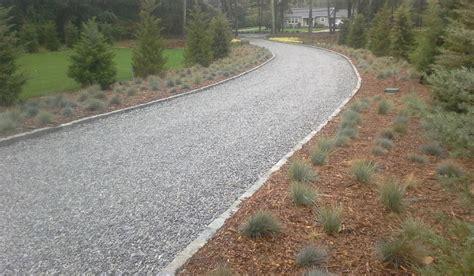 gravel driveway border htons driveway construction contractors gravel driveways hot oil driveways driveway aprons