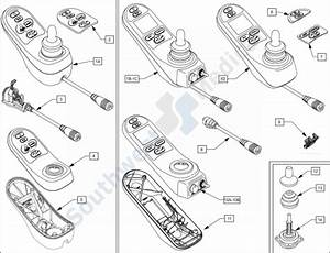 Quickie S636 W   Rnet  U0026 Vr2 Replacement Wheelchair Parts - Rnet Electronics