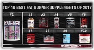 Top 10 Best Fat Burner Supplements 2017