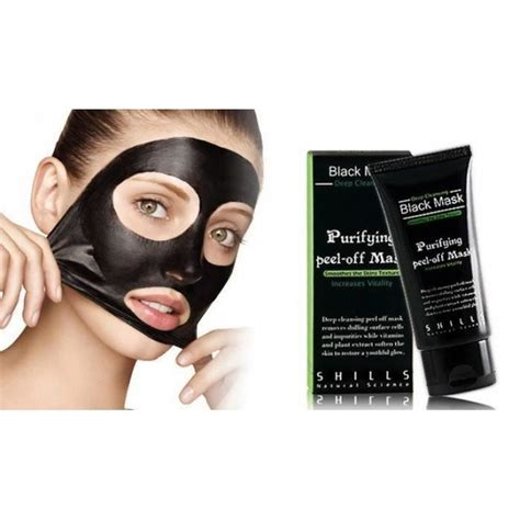 gommage maison point noir creme black mask shills 50ml anti point noir acne achat vente gommage exfoliant creme