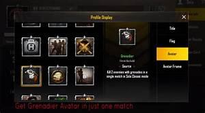 Cara Mendapatkan Avatar Grenadier Di PUBG Mobile Dengan
