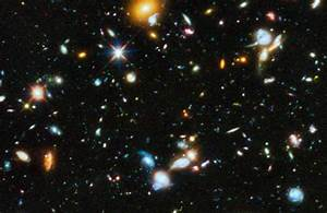 Hubble Deep Field Print - Pics about space