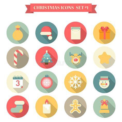 new year christmas christmas clothing sets elk christmas new year icon set flat style objects santa hat