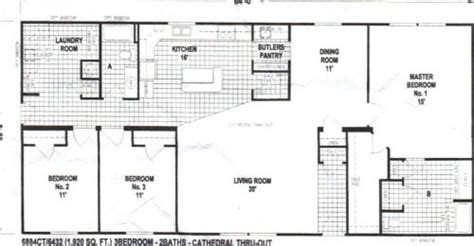 ct spring view mobile home floor plan features  square feet  living area