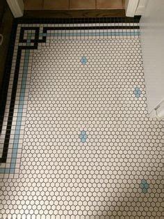 merola tile metro greek key matte white  black border