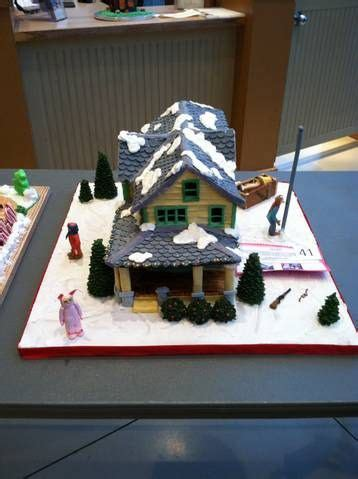 Christmas Story Gingerbread House