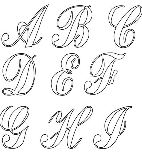 alfabeto cursivo moldes para imprimir moldes