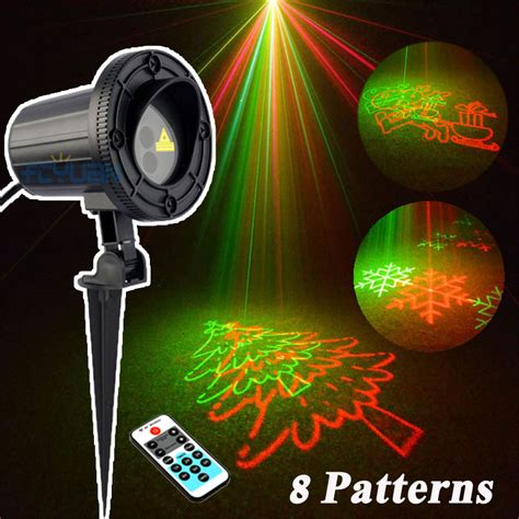 outdoor lights laser projector decorations for a