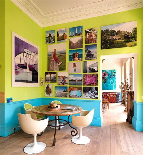 chaises colorées visual feast 25 eclectic dining rooms drenched in