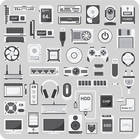 royalty  input device clip art vector images