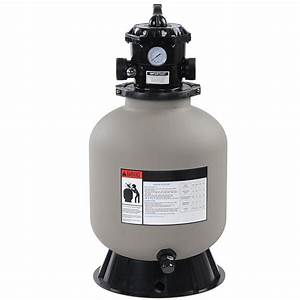 16 U0026quot  In    Above Ground Swimming Pool Sand Filter W   Valve
