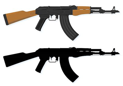Ak 47 Clipart Royalty Free Ak 47 Clip Vector Images Illustrations