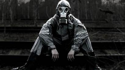 Gas Apocalypse Apocalyptic Wallpapers Masks Person Mask