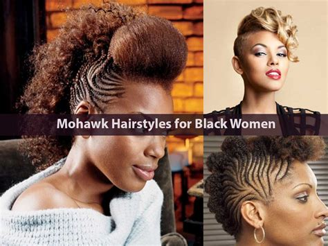 Mohawk Haircut Black Female