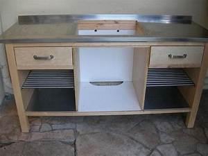 Meuble Plaque Cuisson : meuble cuisine plaque cuisson 13 pour evier avec accessoires ~ Teatrodelosmanantiales.com Idées de Décoration
