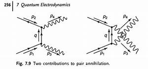 Particle Physics - Feynman Diagrams Pair Annihilation