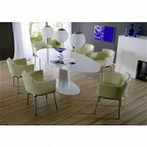 Table De Salle A Manger Ovale : table ovale blanc tables de salle manger comparer les prix sur ~ Teatrodelosmanantiales.com Idées de Décoration