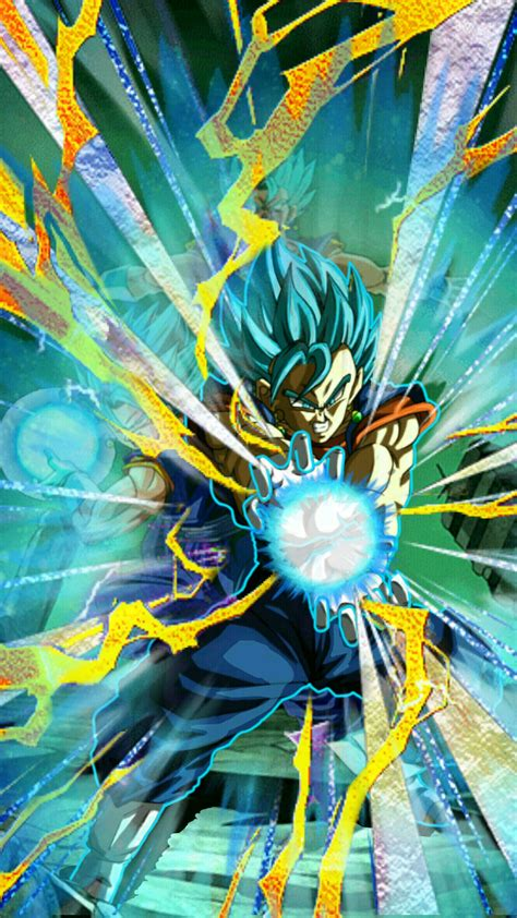 blue god super saiyan god ss vegito db dokfanbattle