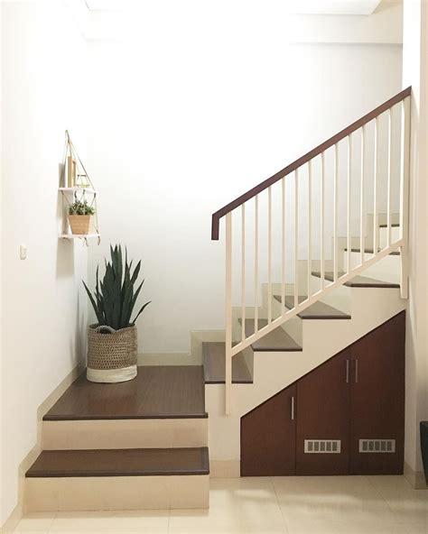 tangga beton rumah minimalis ndik home