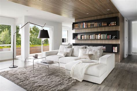 Contemporary Apartment : Charming Modern Apartment Designed For Two Book Lovers In