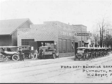 best garage plymouth mi historic bonafide garage re discovered patch