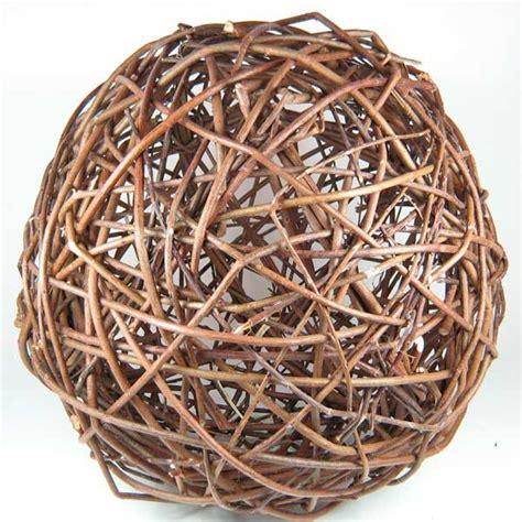 weidenkugel rebenkugel weidenball dekobaelle cm natur