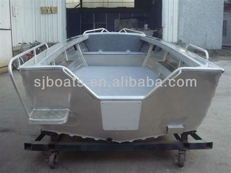 Aluminum Fishing Boats Manufacturers by Sanj Small Aluminium Fishing Boats Without Engine Buy