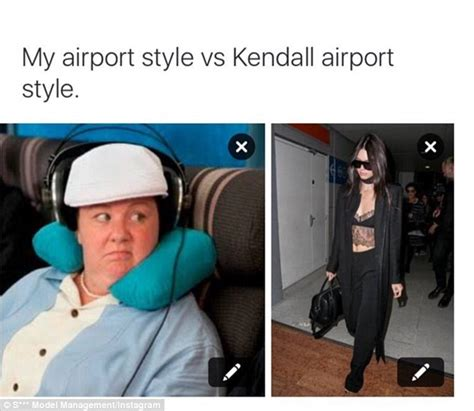 Meme Model - models create witty memes to show how unglamorous the industry really is daily mail online
