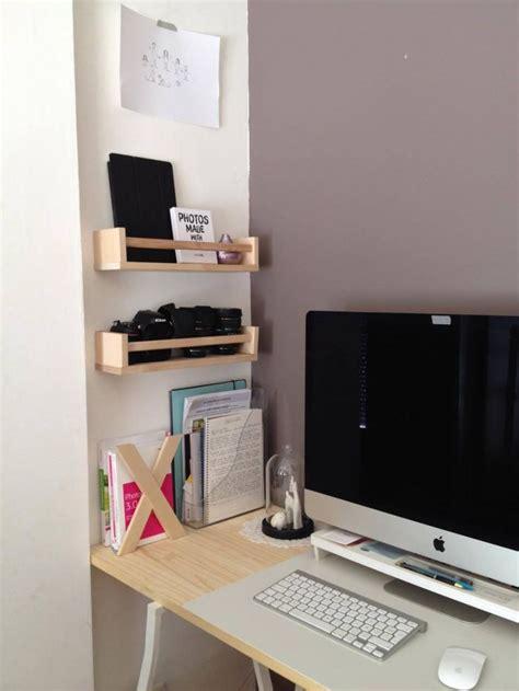 bureau ikea treteaux 1000 idées sur le thème meuble ordinateur sur bureau mural rabattable bois noir et